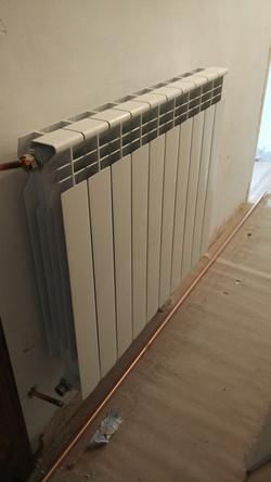 Instalación de calefacción en Egia