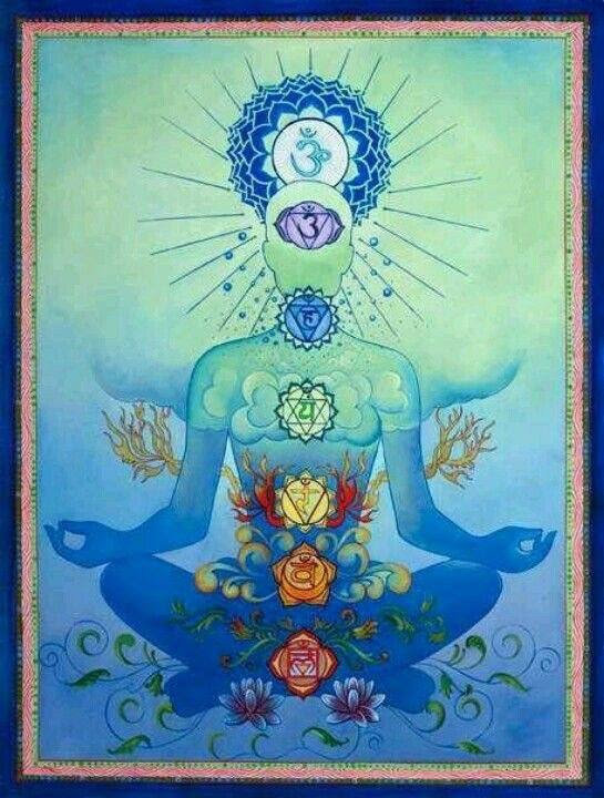 Chakra cleansing and alignment