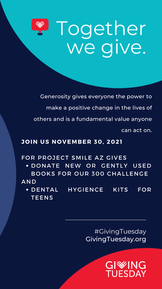 Big plans for Giving Tuesday