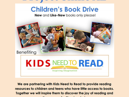 Spring Cleaning? Donate a gently used book today!