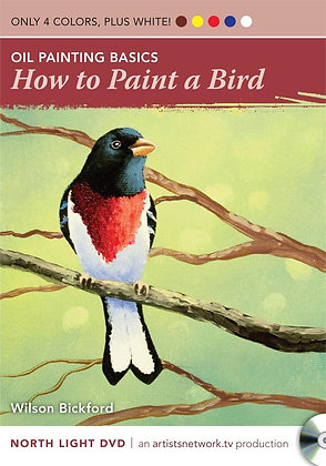 "North Light DVD ""How to Paint a Bird"""
