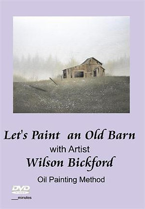 """""""Let's Paint an Old Barn"""" DVD"""