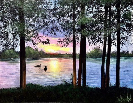 """""""Down by the Riverside"""" Painting Packet"""