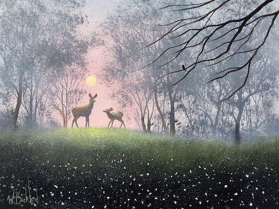 """Doe and Fawn"" Painting Packet"