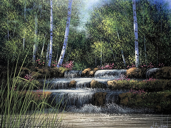 White Birch Falls