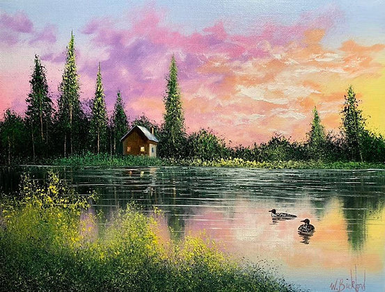 Evening at the Cabin