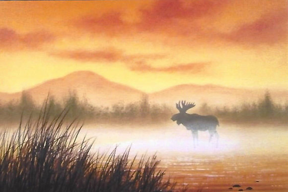 """""""Misty Moose"""" Painting Packet"""
