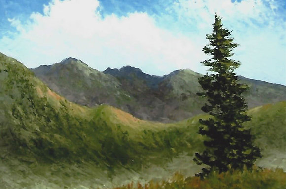"""""""Lonesome Pine"""" Painting Packet"""
