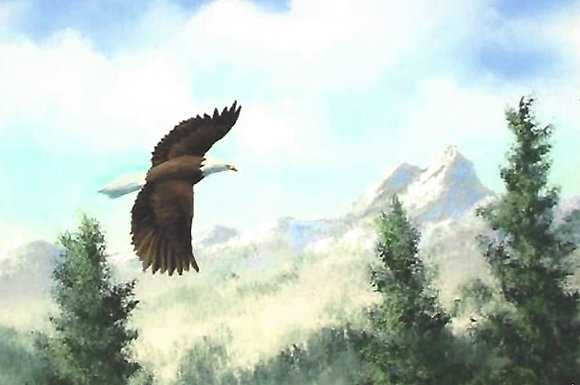 """Fly Like an Eagle"" Painting Packet"