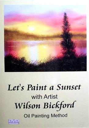 """Let's Paint a Sunset"" DVD"