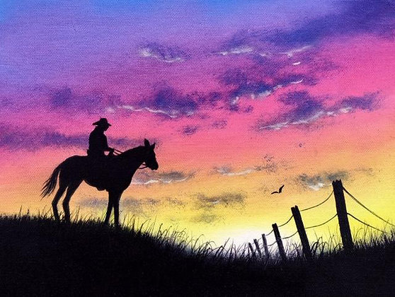"""Happy Trails"" Painting Packet"