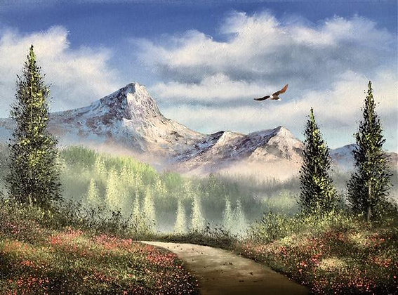 """High Peaks Trail"" Painting Packet"