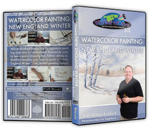 """New England Winter"" (Watercolor) DVD"