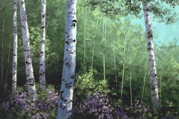 """Summer Birches"" Painting Packet"