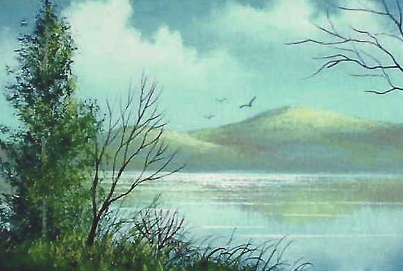 """Adirondack Vista"" Painting Packet"