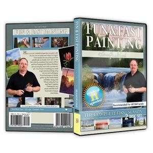 """Fun and Fast PaintingTV Series"" 2-Disc Set"