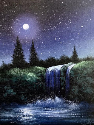 """""""Midnight Blue"""" Painting Packet"""