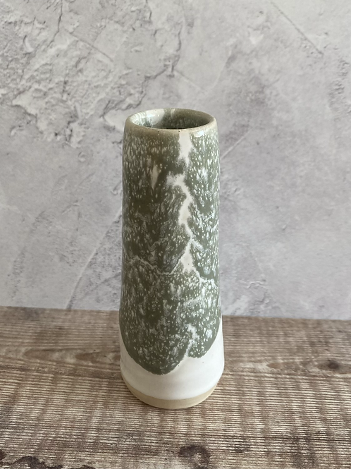 Budvase - white/grey Seafoam design