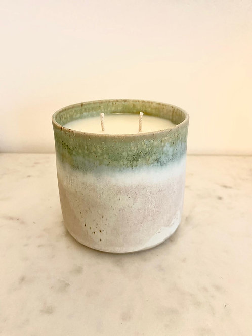 Ceramic Potted Candle