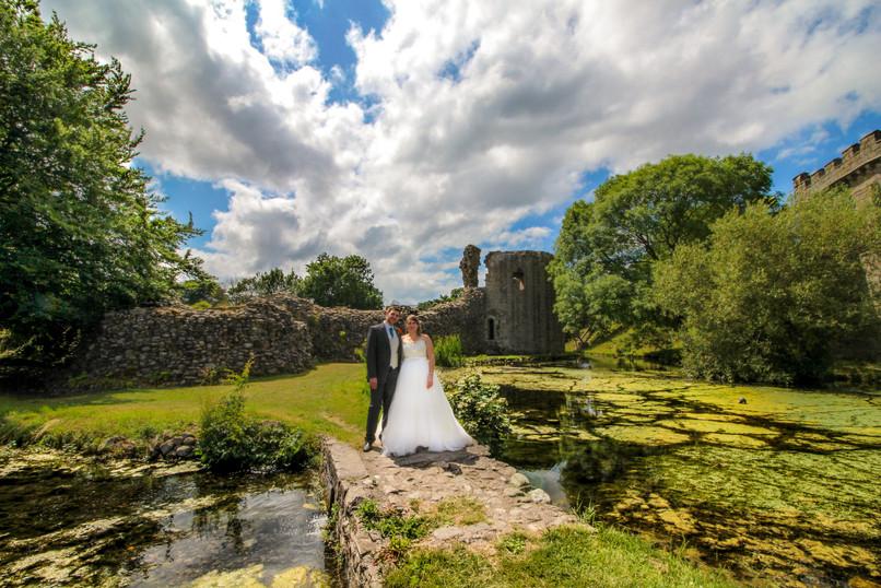 Whittington Castle Ruins