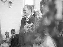 The beautiful moment Suzanne's son gives her away at the alter