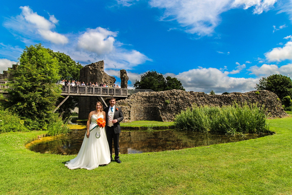 Whittington Castle Pond