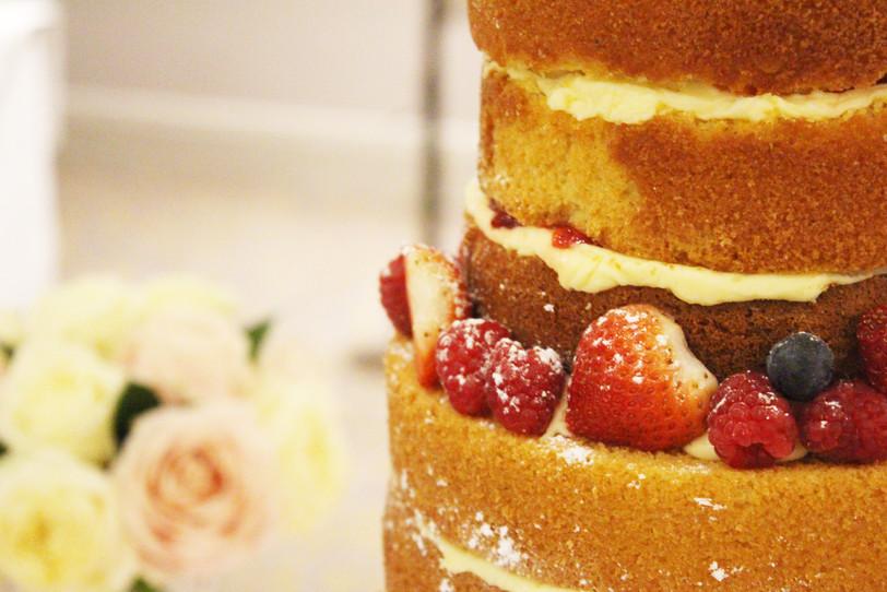 Naked cake - Afternoon Tea