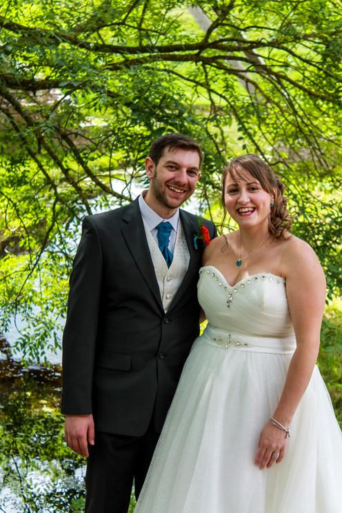 Newly weds! Whittington Castle