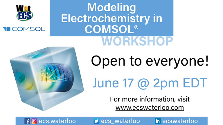 COMSOL Multiphysics for Electrochemistry