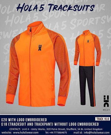 #hola5 Track Suits D5 Upper & Bottom