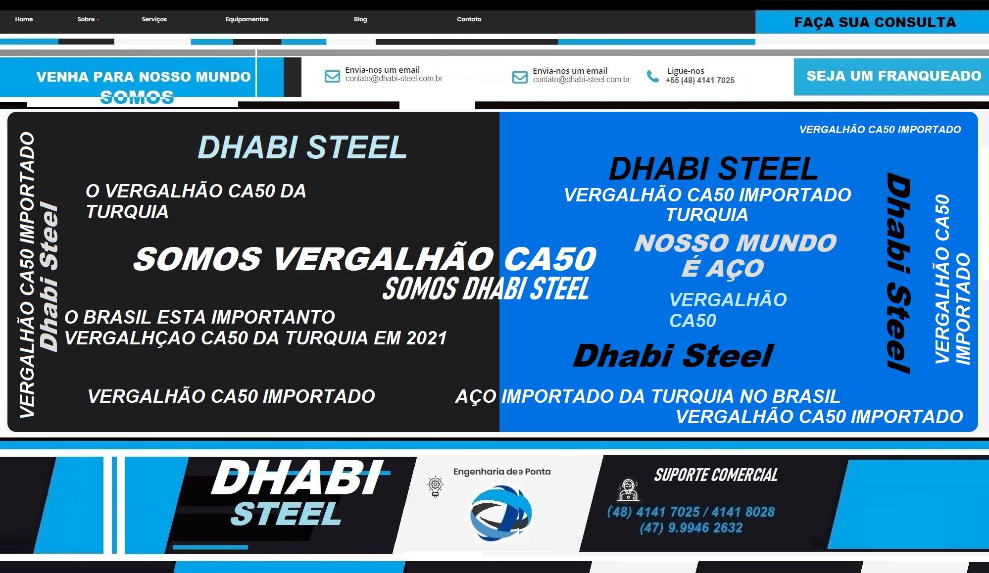 CA 50 TURQUIA COM DHABI STEEL  apenas no