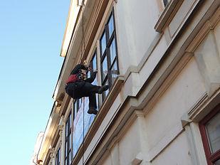Myt oken výškovou metodou