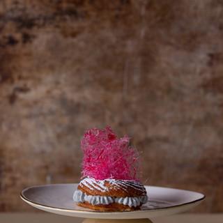 פריז-ברסט צ'ורוס עם דקורציית סוכר