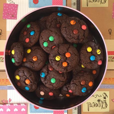 עוגיות שוקולד ועדשים