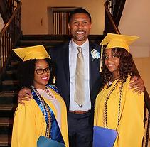 Jalen Rose with JRLA graduates