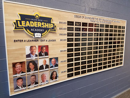 JRLA donor wall