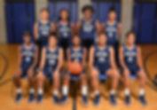 JRLA '17-'18 Girls Basketball Team