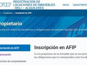 ¿Quiénes, cuándo y cómo están obligados a registrar los contratos de alquiler en la AFIP?