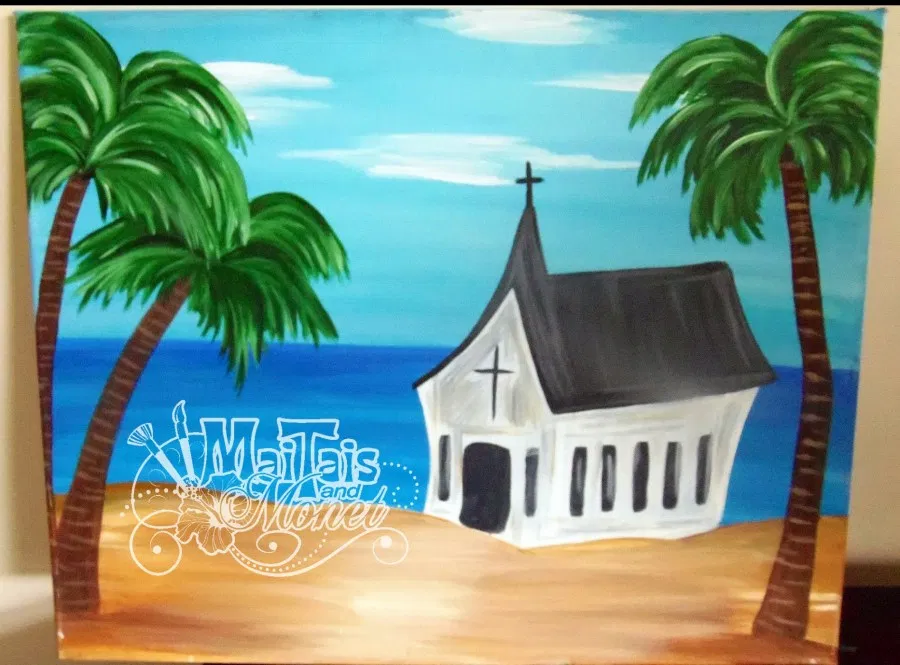 tropical church