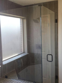 Tube Drop to Shower - ORB finish