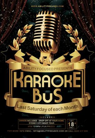 The Karaoke Bus is coming!