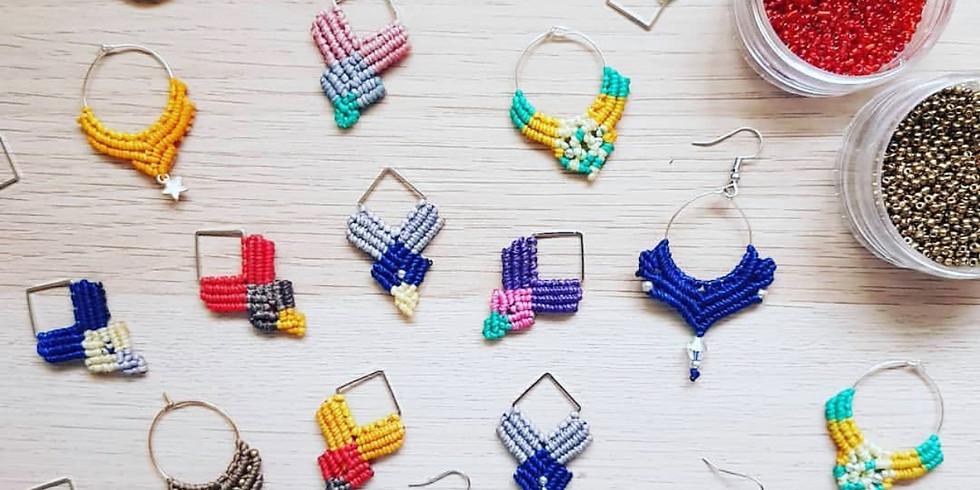 Macramé Earrings Workshop