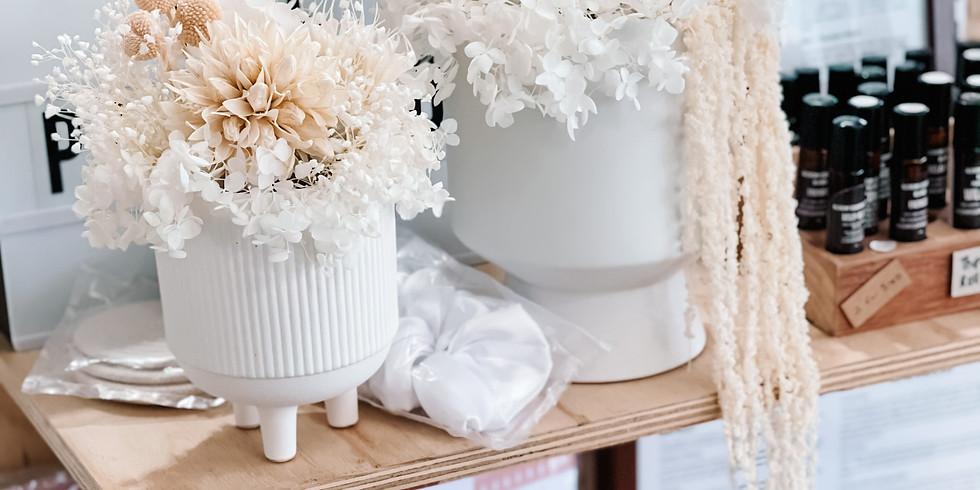 Everlasting Floral Arrangement Workshop