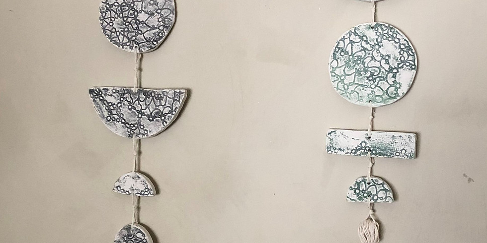 Clay Decorative Wall Hanging Workshop (2 part)