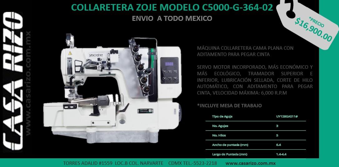 Collaretera Zoje c5000-g-364-02