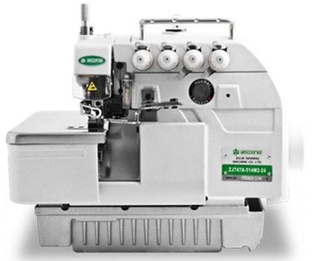 Máquina overlock Zoje mod. zj757