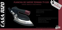 Plancha de vapor Toyama ty520