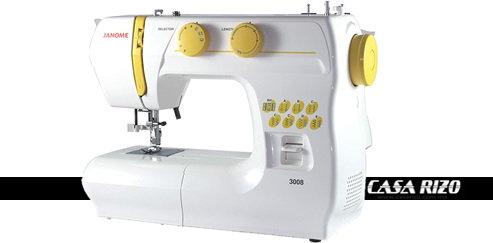 Máquina Janome 3008