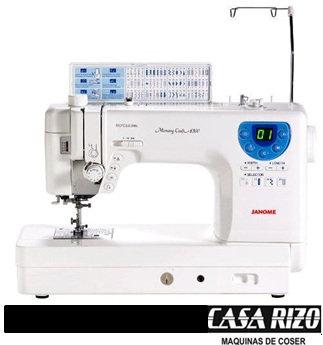 Máquina janome MC6300P profesional