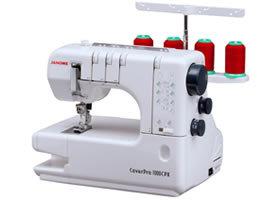 Máquina collaretera Janome 1000cpx *envío gratis